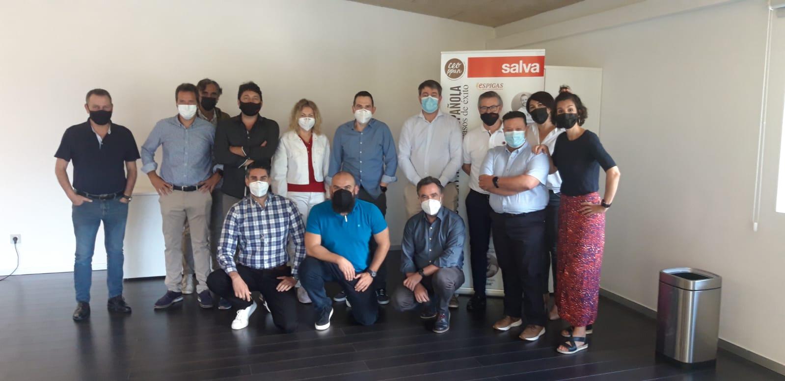 Arrancamos nuevo proyecto de formación comercial con el equipo de SALVA INDUSTRIAL